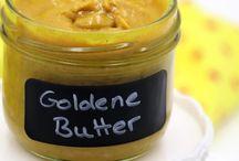 goldene Butter