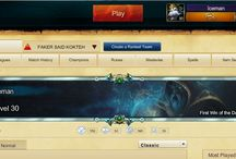 League of legends / history about my gameng experince