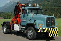 T BERNA/SAURER TRUCKS / Trucks of the SWISS Brands BERNA/SAURER.