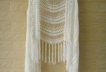 faldas y chalecos crochet