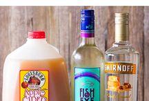 Cocktails, drinks, beverages