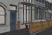 3D Visualatisatie van Uw eiken bijgebouw / Crownoak en Loghomes kunnen U de service van 3 d visualisatie aanbieden zoals het in uw omgeving gedijt . Eiken zelfbouwpakketten - totaalprojecten