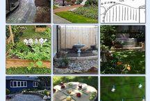 Small back gardens