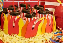 Fire Fighter & Fire Truck Party / It's a five-alarm birthday celebration! What child doesn't go through a phase of wanting to be a fire fighter? Now you can have all the supplies you need to host a birthday bash worthy of being at the fire station.