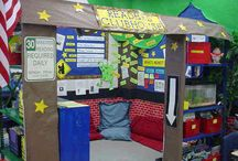 The Reading Nook / Cozy reading nooks for all ages to enjoy. Perfect for a classroom setting.