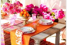Tablescapes & Entertaining / Decorate your table and place settings with creativity and style.  Martha Stewart, Emily Post and Gloria Vanderbilt will be envious of your elegance and decorating ingenuity!