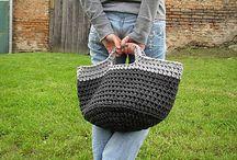 Crochet baskets / Háčkované košíky