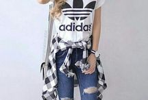 Adida outfits and shoes