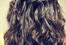 Szalagavatós hajak