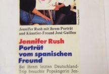 JENNIFER RUSH & JOSÉ JULIÉN  PORTRAIT