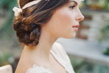 Boho hairstyle / #Amor #Wedding #Boda #Idea #Love #trend  #boho  #amor #acepto