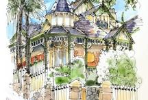 Watercolour Travel Sketching ideas