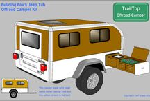 Camper Ideas / Inspiration for the camper trailer build. / by Chazz Layne