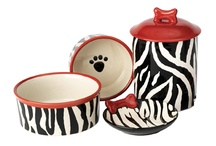 FEED ME! / #Bowls, #Treat jars and MORE! Your #dog will love this statement!