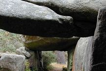 Celtic Environment / dolmen menhirs celtic rocks environment
