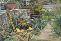 Richard Crozier Art / Plein air paintings by well known former University of Virginia professor, Richard Crozier of Charlottesville
