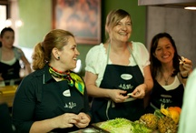 Social Cooking / Cooking classes in Bucharest, Romania.