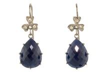 * Pretty Blue Jewelry ~ Earrings * / by Kim Champion