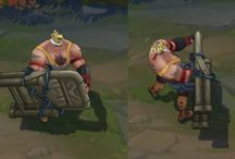 League of Legends -3D Models / 3D model views from League of Legends