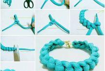 Cipőfűzős ötletek - Shoelace craft ideas