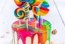 Tort colorat