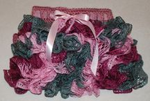 puchata spodniczka / fancy skirt crochet