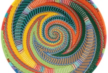 Baskets .......and more Baskets!! / Baskets have been a life-long passion  -  I have worked with Zulu basket weavers for more years than I care to remember!