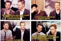 Zach Quinto & Chris Pine❤