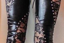 Harleys & Leather