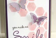 Honeycomb die, hexagon punch and embossing folder