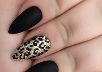 Animal nail print