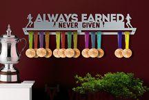 Motivational Phrases | Medal Hangers