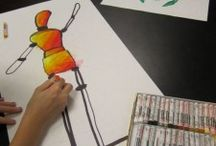elementary art - people and figures