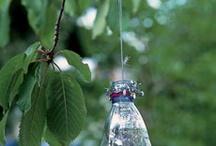 plastic bottle xmas ornaments
