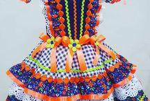 vestido de sao joao