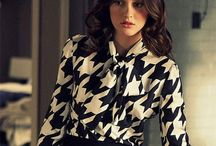 Love anything houndstooth / by Malaine Marolf-Bargo