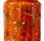 Sauces pickles etc.