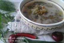 http://dulcesarat.blogspot.ro/2015/10/ciorba-de-salata-cu-fasole-boabe.html / blog culinar romanesc