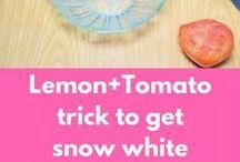 Tomato and lemon pack