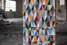 patchwork: triangles