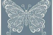 бабочка вырезка