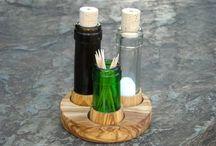 Переработанные бутылки
