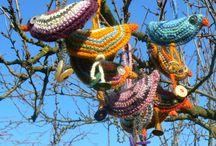 easter crocheting / easter
