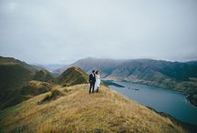 Wanaka Heli-Weddings, New Zealand / If you're searching for the perfect location for an unforgettable New Zealand wedding, Wanaka should be at the top of your list.  This stunning alpine town is one of the most dramatic and romantic places on earth and the perfect setting for you to create the most beautiful day imaginable.