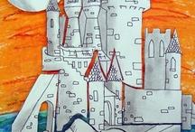 Art Ed - Castles / by Christopher Schneider