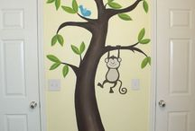Murals for children's rooms / www.mylittletreehouse.com.au