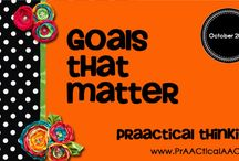 AAC: Writing Goals & Objectives