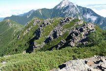 早川尾根(南アルプス)登山 / アサヨ峰を主峰とした早川尾根の絶景ポイント 南アルプス登山ルートガイド。Japan Alps mountain climbing route guide