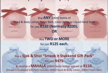 iLoveZA.com Specials / Specials in all the ranges
