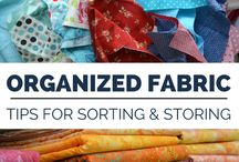 Fabric storing